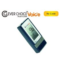 <strong>Simple Diagnostics</strong> Clever Choice Auto-Code Voice Blood Glucose Monitor