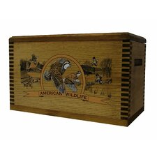 "Wooden Accessory Box With ""Wildlife Series"" Quail Print"
