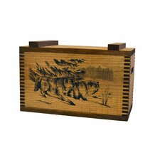 Standard Storage Box with Wolf Print