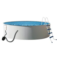 "Round 52"" Deep Presto Steel Wall Swimming Pool Package"