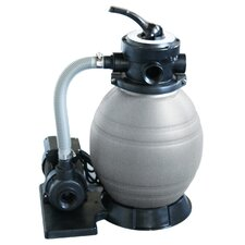 "12"" Sand Filter System with 0.5 Horse Power Pump"
