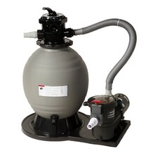 "22"" Sand Filter System with 1.5 Horse Power Pump"