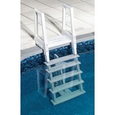 Heavy Duty In-Pool Ladder in White