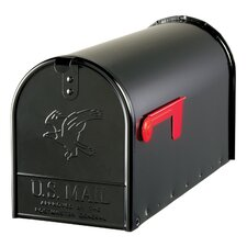 Large Elite Galvanized Steel Rural Size Mailbox