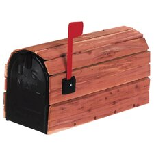 Cedar Wrap Rural Mailbox Kit