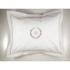 Bee Wreath Boudoir Pillow Cover