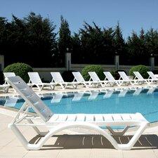 Aqua Chaise Lounge (Set of 4)