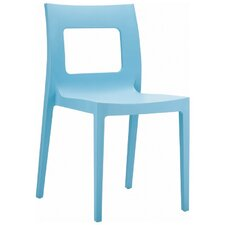 La Plaza Lucca Stacking Dining Side Chair