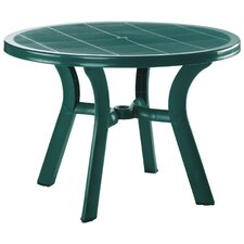 Truva Resin Round Dining Table