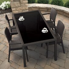 <strong>Compamia</strong> Wickerlook 5 Piece Dining Set