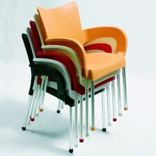 Romeo Stacking Dining Arm Chair