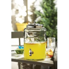 Jacksonville Glass Beverage Dispenser