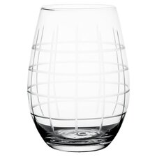 Medallion 17 oz. Stemless Goblet (Set of 4)