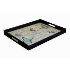 Notion Butterfly Rectangle Tray with Handles