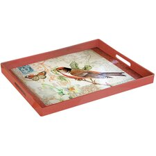 Oak Avenue Rectangle Tray with Handles