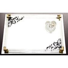 "14"" x 10"" Mirror Vanity Tray"