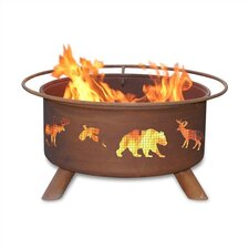 <strong>Patina Products</strong> Wildlife Fire Pit