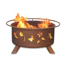 Flower and Garden Fire Pit