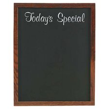 "Today's Special Wall Mounted 2' 3"" x 1' 10"" Chalkboard"