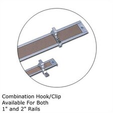 .5Map Rail Accessories - Combination Hook/Clip (Set of 4)