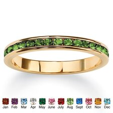 Birthstone Eternity Ring