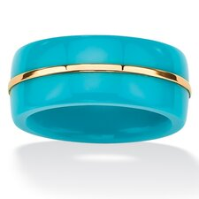 Gold Viennese Turquoise Band
