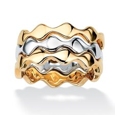 Stackable Zigzag Ring (Set of 3)