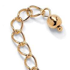 <strong>Palm Beach Jewelry</strong> Gold Plated Chain Extender