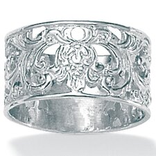 Silver Filigree Band