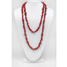Coral Nugget Necklace