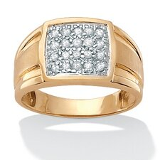 <strong>Palm Beach Jewelry</strong> Men's Diamond Ring
