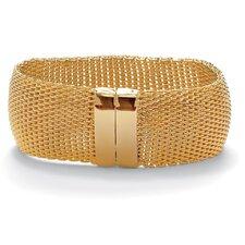 Mesh Bangle Bracelet
