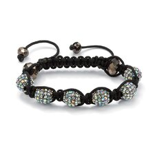 Ball Crystal and Glass Bracelet