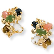<strong>Palm Beach Jewelry</strong> Multi-Stone Earrings