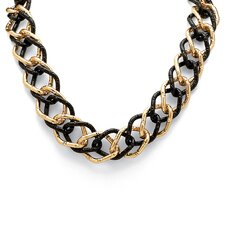 <strong>Palm Beach Jewelry</strong> Curb Link Necklace