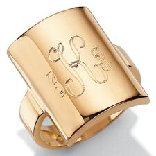 14k Yellow Gold Statement Ring