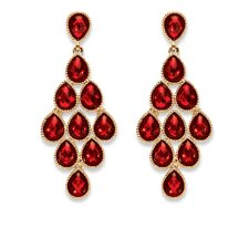 <strong>Palm Beach Jewelry</strong> Birthstone Drop Earrings