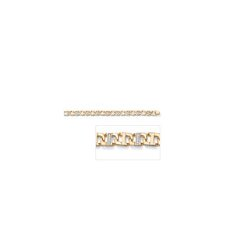 <strong>Palm Beach Jewelry</strong> Cubic Zirconia Men's Link Bracelet