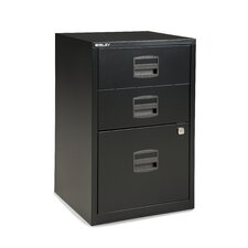 Three Drawer Home Filing Cabinet