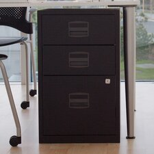 Bisley Three Drawer Home Filing Cabinet