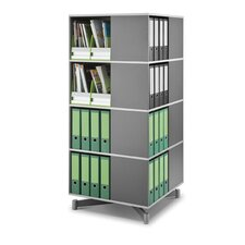 "27.2"" Carousel Shelving Unit"
