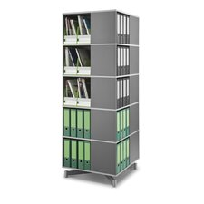 <strong>Empire Office Solutions</strong> Moll Spin and Store 5 Tier Carousel Shelving Unit