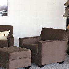<strong>Huntington Industries</strong> Daniel Chair and Ottoman