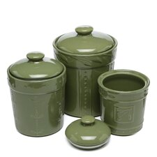 Sorrento 3 Piece Canister Set