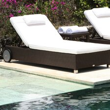 Anzio Lounger with Cushion