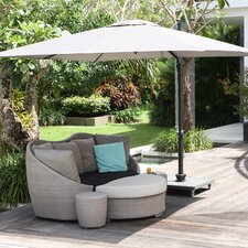 Nicosia Cantilever Parasol with Base Wheel