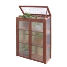 "Polycarbonate 30"" W x 16"" D Growing Rack Greenhouse"
