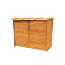 Wood Horizontal Refuge Storage Shed