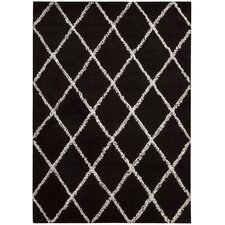 <strong>Joseph Abboud Rug Collection</strong> Monterey Black / White Rug