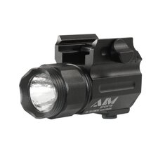Flashlight 150 Lumens With Quick Release Mount Color Filtered Lenses / Compact